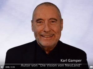 Karl Gamper stellt NeuLand vor